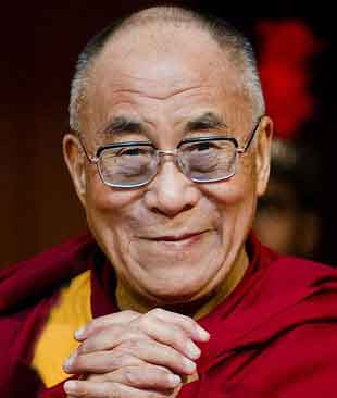 Dalai Lama, an enlightened Buddhist master, till teaches from his residence in Dharmasala, India