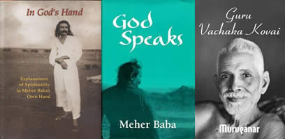 The writings of Meher Baba and Ramana Maharshi have a profound spiritual transmission
