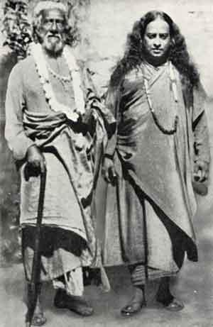 Paramahansa Yogananda was sent to the west by his spiritual teacher Sri Yuketswar